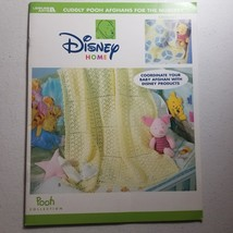 Cuddly Pooh Afghans for the Nursery Disney Home Leisure Arts - $13.08