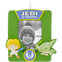 2015 Hallmark Star Wars Jedi In Training Picture Frame - $7.99