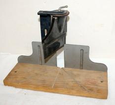 Vintage Stanley 116-MB Wood & Metal Adjustable Miter Box ~ Made in USA ~... - $24.99