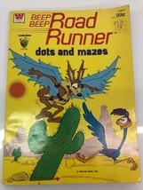Beep Beep Road Runner Dots and Mazes Book 1979 Golden rare - $12.19