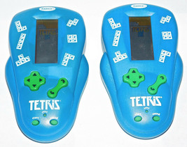 Tetris Handheld Electronic Video Game Radica 2000 Lot of 2 Tested Work Great Toy - $18.51