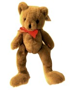 Cuddly Critter Plush Bear stands 12 inches tall with 2 tags - $20.95