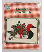 Janlynn 59-2 Red Headed Duck Counted Cross Stitch Kit Gloria & Pat Vinta... - $12.86