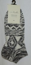 Simply Noelle Cream Tan Black Ankle Socks One Size Fits Most image 1