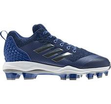 Adidas Women Power Alley 5 TPU Softball Cleats B39216 Blue Silver Size 13 - $39.95