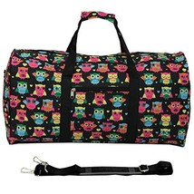 "World Traveler 22"" Duffle Bag, Owl Black - $39.59"