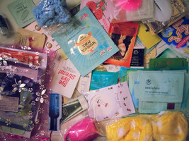 160-Piece Etsy Beauty Asian Curated Korean Skincare Bag - $200.00