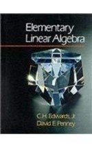 Elementary Linear Algebra [Hardcover] CH Edwards, Jr and Dave E Penney