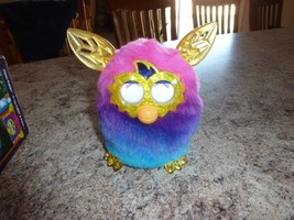 excellent rare Hasbro Pink & Blue Furby Boom Crystal Series toy - $99.99