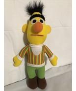 "Vtg Bert Muppets Sesame Street 12"" Plush Stuffed Toy 72901 Playskool 1984 - $15.44"