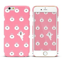 LINE Friends Character CONY Pattern iPhone 6+/6S+ Hard Case Phone Cover ... - $37.39