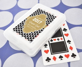 Personalized Playing Cards Vegas Theme Graduation Party Keepsake Gift Favors - $66.45+