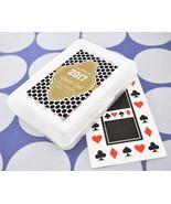 Personalized Playing Cards Vegas Theme Graduation Party Keepsake Gift Fa... - £47.70 GBP+