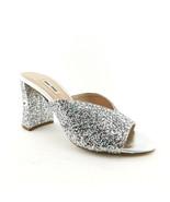 New MIU MIU Size 6 Coarse Silver Glitter Crystal Heel Prada Pumps Shoes ... - $349.00