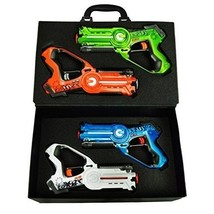 Laser Tag Set 4 Kids Blaster Gun Indoor Outdoor Safe Multiplayer Boy Gir... - $66.63