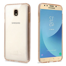 For Samsung Galaxy J7V 2018 Star Refine Clear Hybrid Rubber Silicone Cas... - $6.75