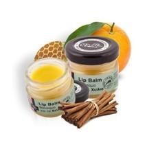 Natural lip balm orange and cinnamon 25ml. herbal lip balm orange thumb200