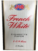 Job French White 1 1/4 Rolling Paper - $67.03