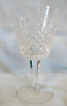"Waterford Alana Claret Wine Stem Goblet 5 7/8"" - $28.60"