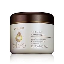 Eleo Hair Mask 125 ml nourishing organic hair repair product by Oriflame... - $39.50