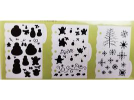 DecoArt Laurie Speltz's Instant Images Template Tools Winter Wonderland #IIJ08 image 2