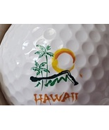 Hawaii Golf Ball Travel Souvenir Golfer Swag Advertising Promotional Item - $17.99