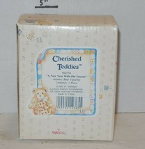 """cherished teddies """"A New Year With Old Friends"""" 1993 #914754 - $32.73"""