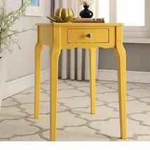ModHaus Living Modern Country Style Wood Accent Nightstand End Sofa Side... - $81.39