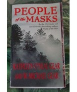Kathleen O'Neal/Michael Gear PEOPLE OF THE MASKS North Native Americans ... - $5.00
