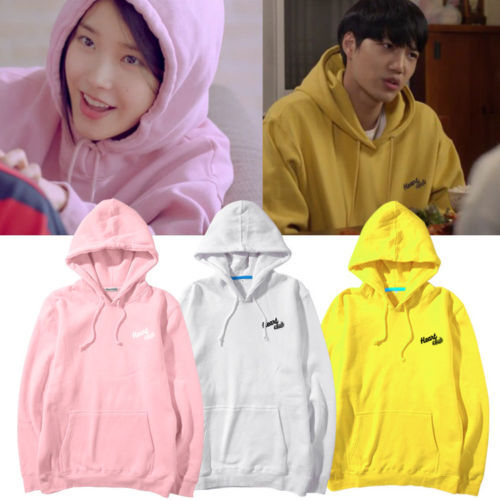 KPOP EXO KAI IU Hoodie THE WAR Pullover Andante Sweatershirt Letter Sweater