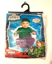 Marvel Super Hero Squad HULK Costume 0-6 months COMIC CON-COSPLAY - Comp... - $16.40