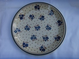 NEWCOR STONEWARE COUNTRY FIELD 10.75 INCH DINNER PLATE VINTAGE JAPAN  NICE - $14.80