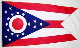 State of Ohio Flag 3' X 5' Indoor Outdoor State Banner - $9.95