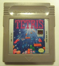Tetris Nintendo Original Game Boy Game - Tested - Working - Authentic - $17.81