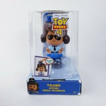 "Disney Pixar Toy Story 4 Officer Giggle McDimples Talking Figure 5""  - $9.89"