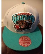 Vancouver Grizzlies Mitchell & Ness NBA Snapback Hat 7 5/8 Logo 2 Tone Cap - $6.72