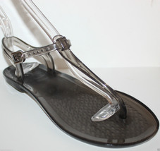 Gap NWT Womens Clear T Strap Jellies Dorm Shower Flip Flops Jelly Sandals - $27.58