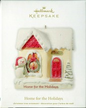 2012 Hallmark Keepsake Ornament - HOME FOR THE HOLIDAYS - Snowman in Fro... - $6.92