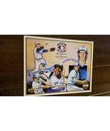 1992 UPPER DECK COMMEMORATIVE SHEET BLUE JAYS MAYBERRY IORG BAILOR BOSET... - $7.99