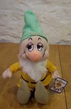 Disney Snow White BASHFUL DWARF 10 inch Plush Stuffed Animal - $15.35