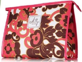 New Clinique Milly Fleur pattern Large Cosmetic Bag - $10.88