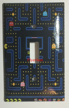Pac-Man Pacman Games Light Switch Duplex Outlet wall Cover Plate Home Decor