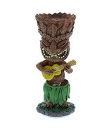 Hawaiian Miniature Dashboard Doll Tiki With Uku... - $11.85