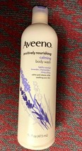 AVEENO Positively nourishing Active Naturals Calming Body Wash 16 oz  - $14.99