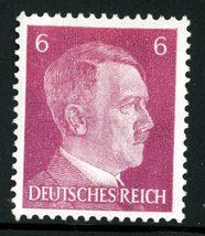1941 Adolf Hitler Germany Postage Stamp Catalog Number 510 MNH