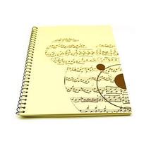 Blank Sheet Music Composition Manuscript Staff Paper Art-Music-Notebook ... - $12.17
