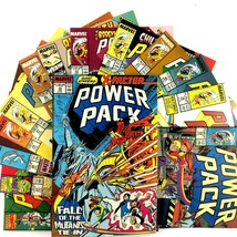 Power Pack 14 Comic Book Lot Marvel New Mutants X-Factor Franklin Richards - $34.60