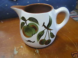 Great STANGL Milk Pitcher- Orchard Song Pattern.............SALE - $8.91