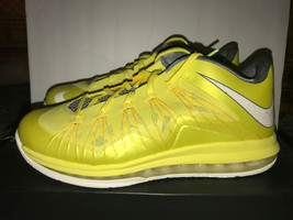 Nike LeBron X Low Sonic Yellow Size 11 DS - $110.00
