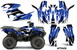 ATV Graphics Kit Quad Decal Wrap For Yamaha Grizzly 550/700 2015-2016 ATTACK BLU - $267.25
